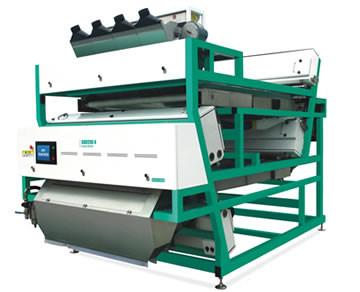Double Layers + 1600 Belt color sorter